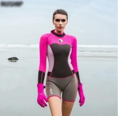 Женский неопреновый гидрокостюм для серфинга