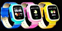 Оригинальные детские умные смарт-часы Q90-(Сенсорный экран, WI-FI, SOS).