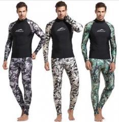 Гдрокостюм для мужчин с принтом (камуфляж)