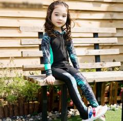 Детский гидрокостюм для девочек серфинг