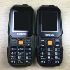 Кнопочный мобильный телефон на две сим-карты