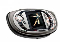 Оригинальный игровой телефон Nokia N-gage QD.
