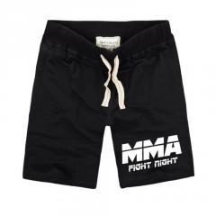 Летние мужские стильные шорты надписью ММА-UFC