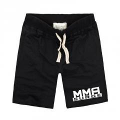 Летние мужские стильные шорты надписью-MMA