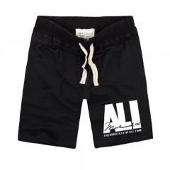 Летние мужские стильные шорты надписью ALI