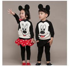 Комплект одежды для малышей-Микки Мауса (из...