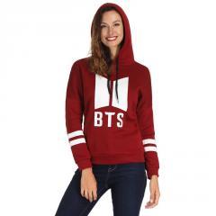 Модный женский свитер BTS с напечатанными...