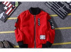 Детская двустороняя куртка для мальчиков
