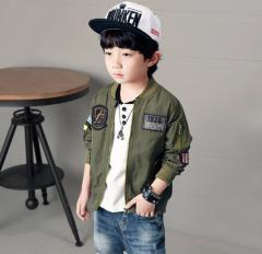 Детская весеняя куртка бомбер для мальчиков