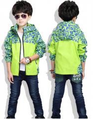 Детская повседневная куртка для мальчиков с