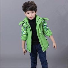 Детская куртка для мальчиков ветрозашитная с...