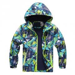 Весеняя куртка для мальчиков ветрозашитная...