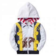 Детская ветрозашитная куртка для мальчиков...