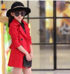 Стильное детское демисезоное пальто для девочки