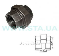 Couplings pig-iron connecting Du25mm V-in GOST