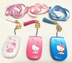 Hello kitty сотовые телефоны W88 для девочек