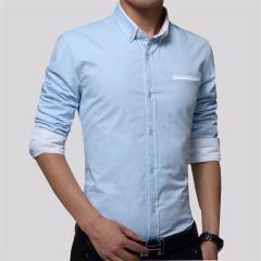 Мужская брендовая рубашка поло с длинными рукавами в полоску