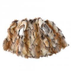 Детская зимняя меховая жилетка для мальчиков
