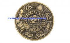 Монеты на удачу-для украшения дома