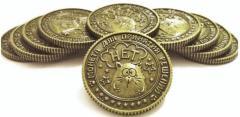 Антиквариатниые счастливые монеты-на удачу.