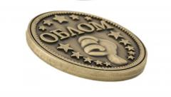 Металичыские монеты-на удачу
