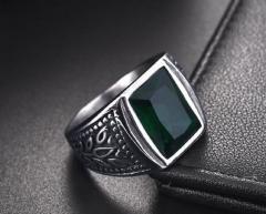 Винтажный мужской перстень из тетановой нержавеющей стали