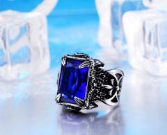 Винтажное кольцо коготьдракона для мужчин