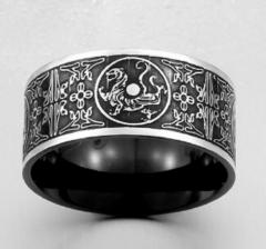 Винтажное кольцо в стиле викингов