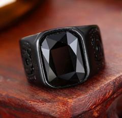 Мужское модное кольцо в стиле хип-хоп кольцо с