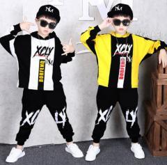 Костюм детский для танцев для мальчиков в стиле хип-хоп.