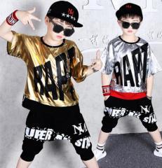 Летний детский спортивный костюм в стиле хип-хоп