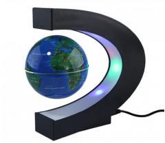Ливитирующий глобус с витильник с картой мира.