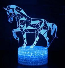 Ночной светильник с 3D моделями жывотных.