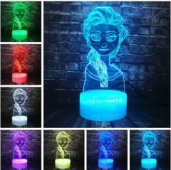 Ночной светильник с 3D моделями из мультфильмов