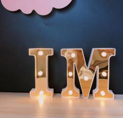 3D светоидиодные буквы для украшения комнаты или празника
