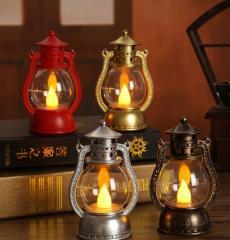 Винтажная масляная лампа для рождества