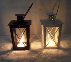Винтажная масляная лампа для хелоувин