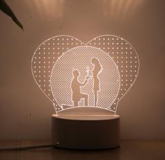3D светоидиодный ночеик