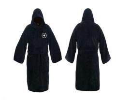 Фланелевый мужской махровый ночной атласный халат