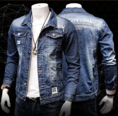 Мужская джынсовая куртка HCXY