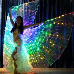 Женские светодиодные костюмы для танца живота.