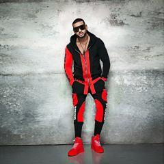 ZOGAA брендовый мужской спортивный костюм из 2 предметов