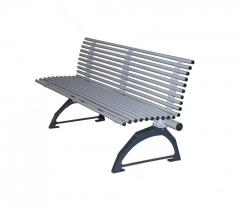 Парковая скамейка антивандальная Банджо