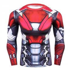 Мужская облегающая кофта Marvel, (3D кофта)