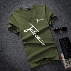 Мужская стильная футболка с надписью