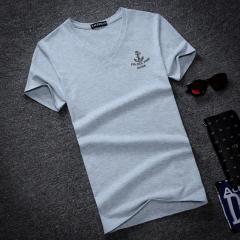 Стильная мужская футболка с нашивкой якоря