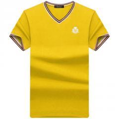 Стильная мужская футболка с коротким рукавом