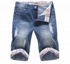 HCXY Для мужчин джинсовые домашние шорты с