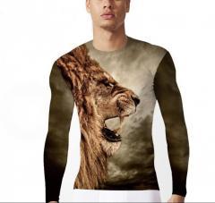 KYKU кофта со львом, одежда в стиле хип-хоп