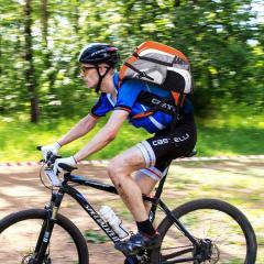 Велосепедный рюкзак для вело спорта